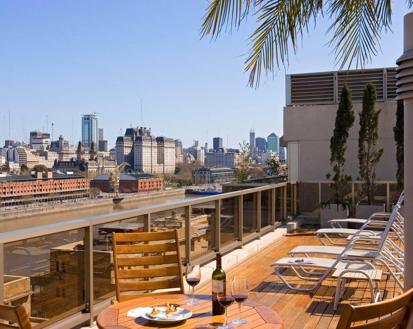Hotel Madero Sky bar