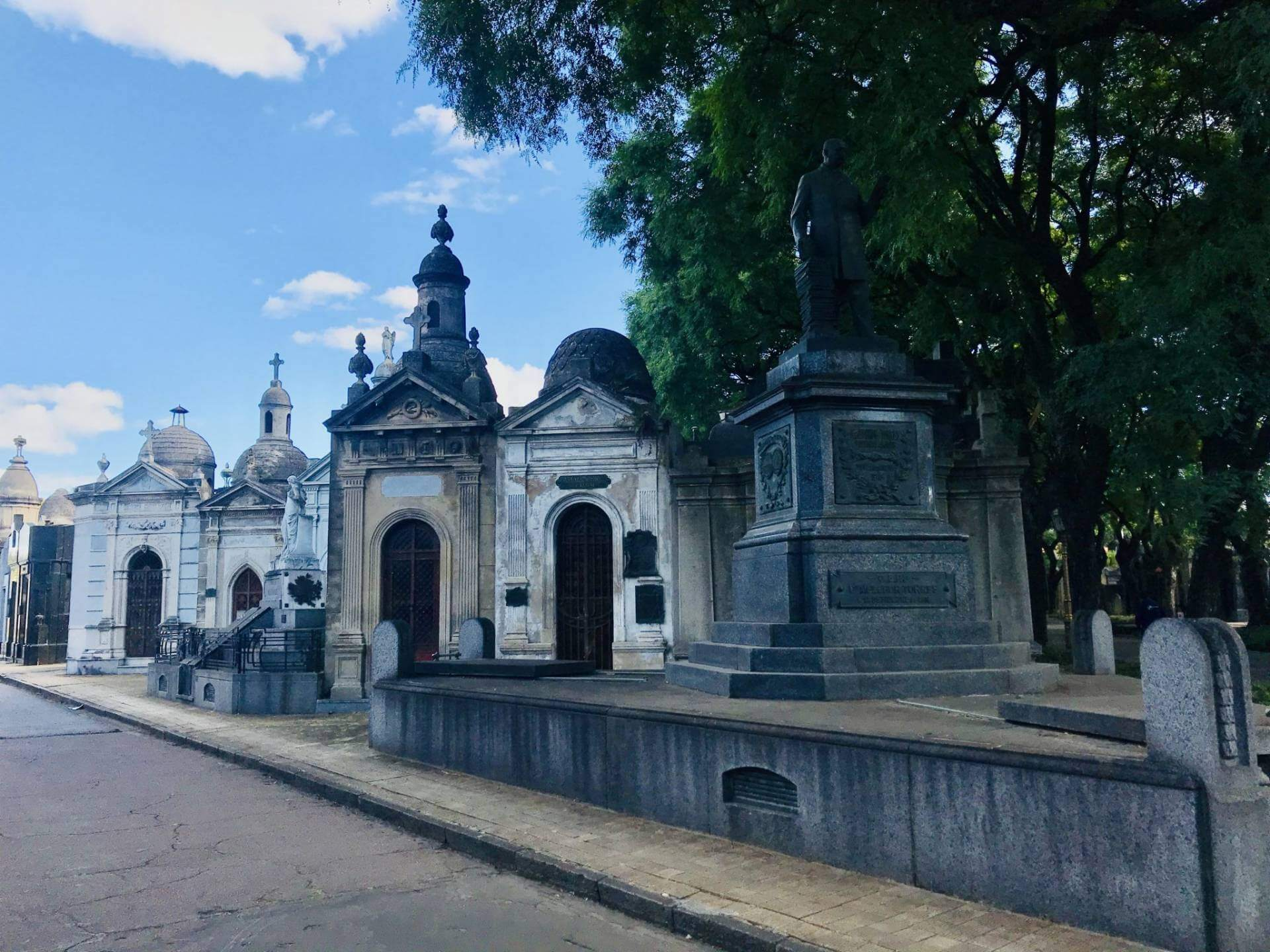 Cemetery Buenos Aires Chacarita