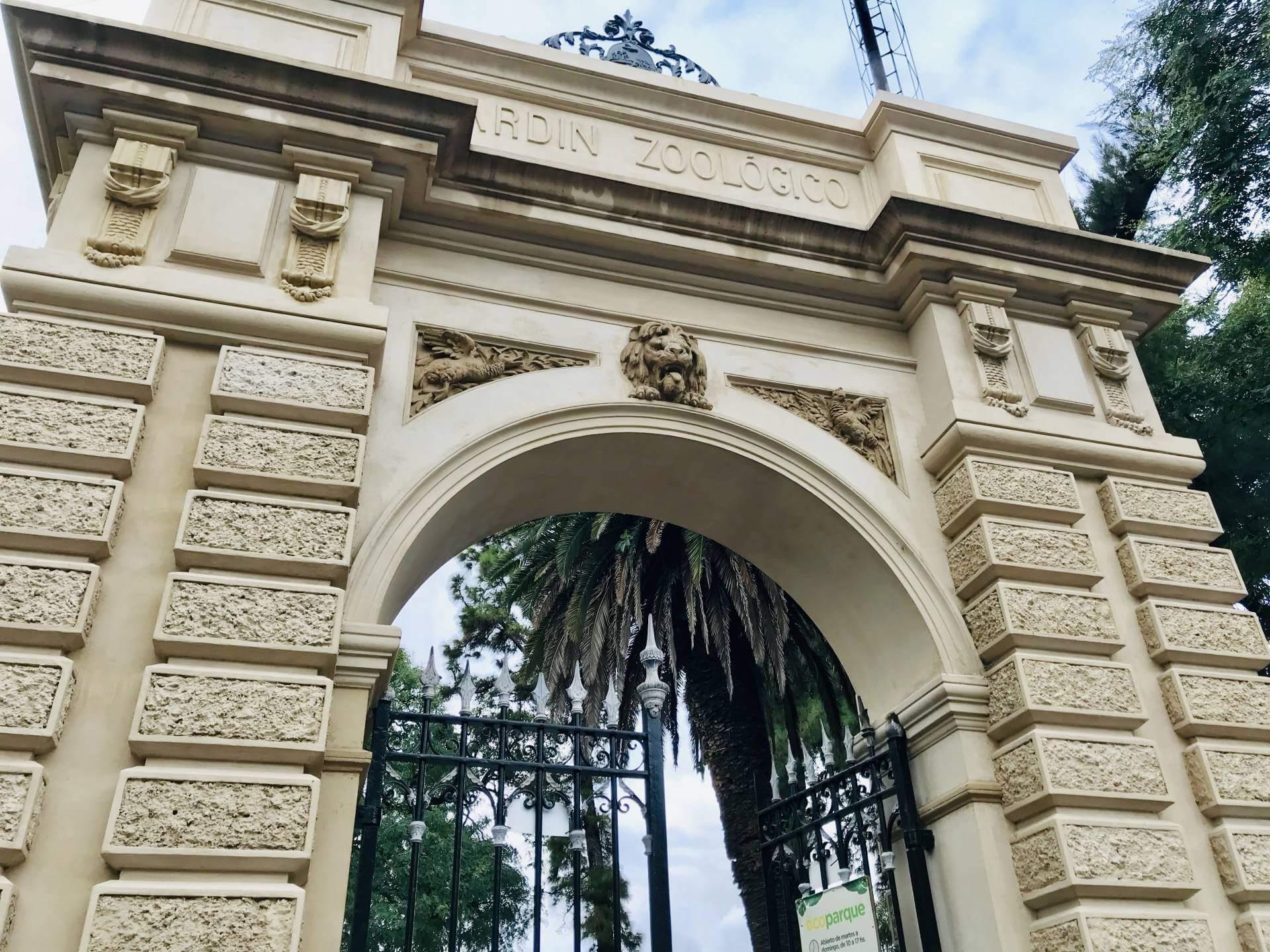 Entrance Parque Ecologico