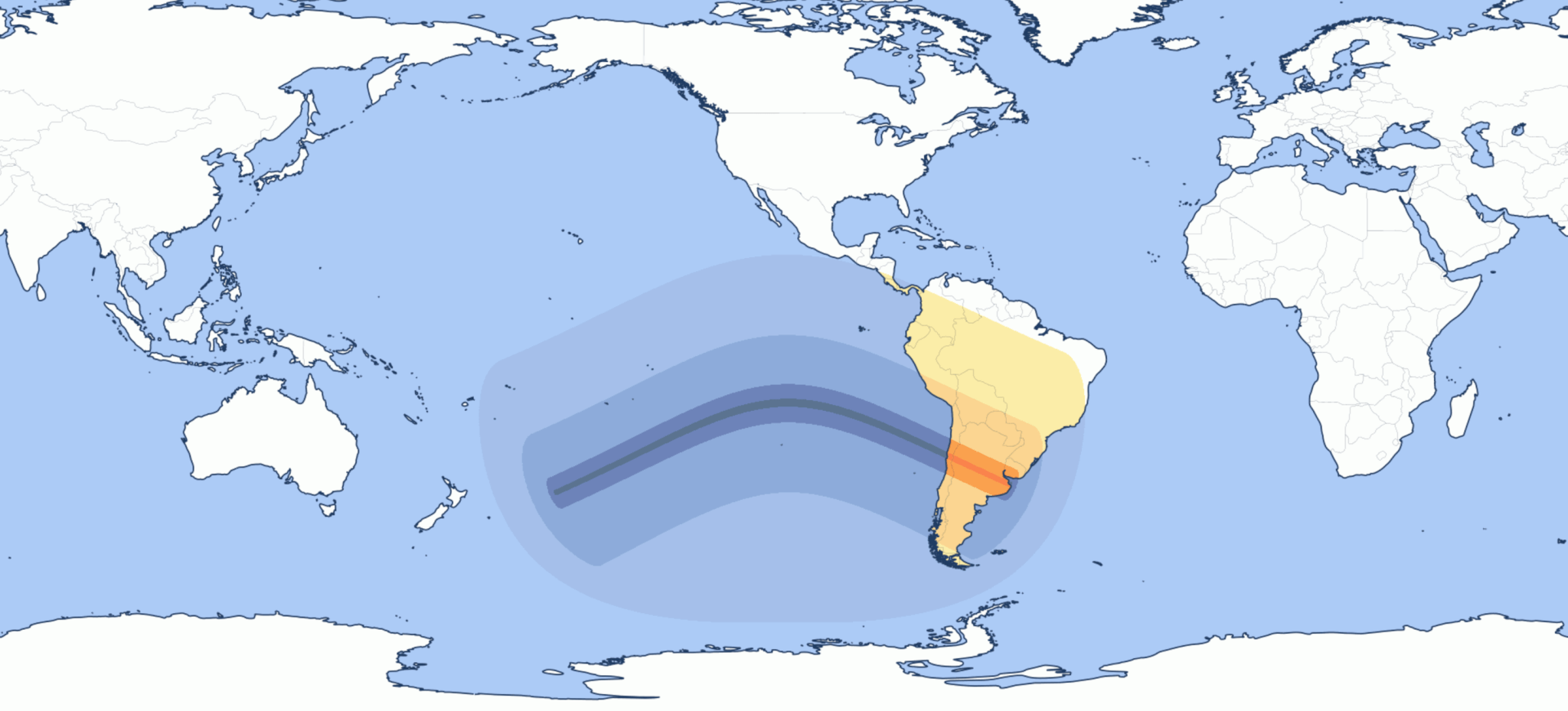 Total solar eclipse Buenos Aires 2019 July 2