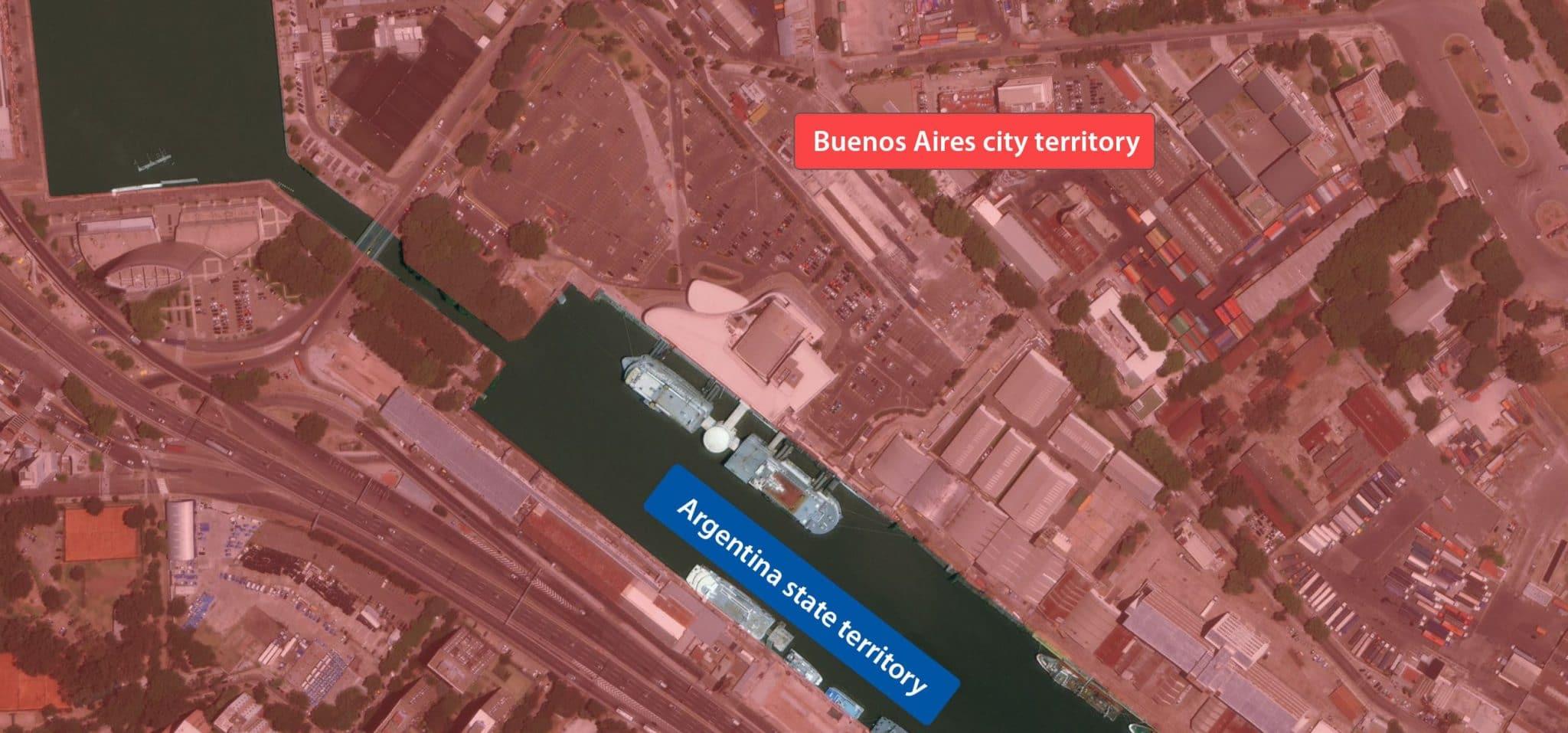 Map Buenos Aires Casino