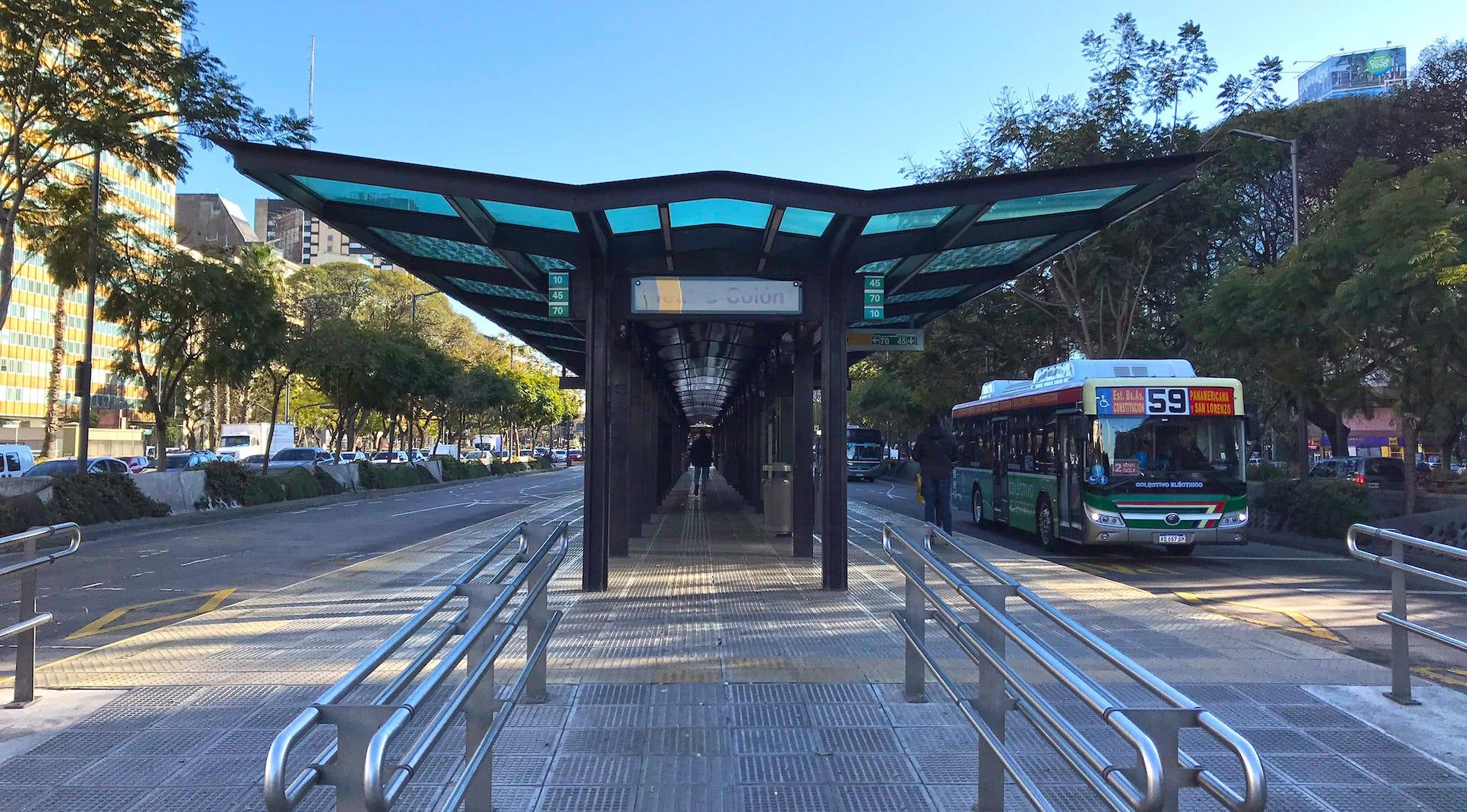 Metro bus Public Transport Buenos Aires