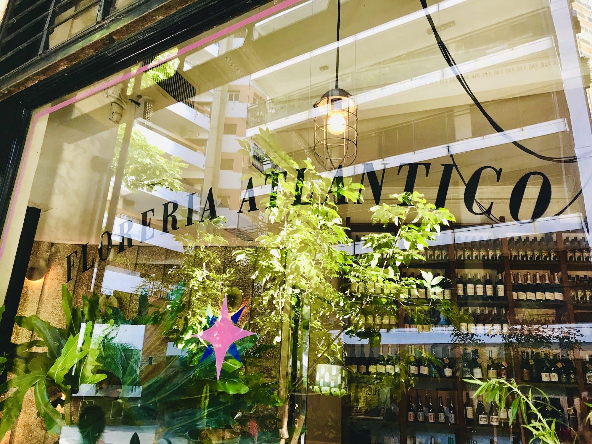 Secrets of Buenos Aires Guide Floreria Atlantico Window