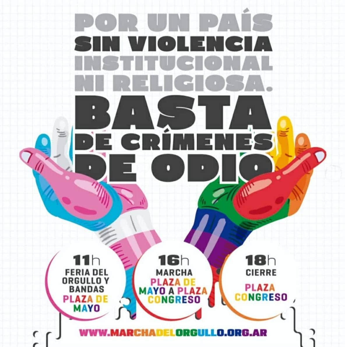 Pride Buenos Aires LGBTQ Lesbian Gay