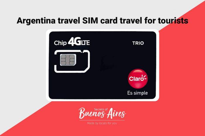 Argentina SIM Card travel tourism