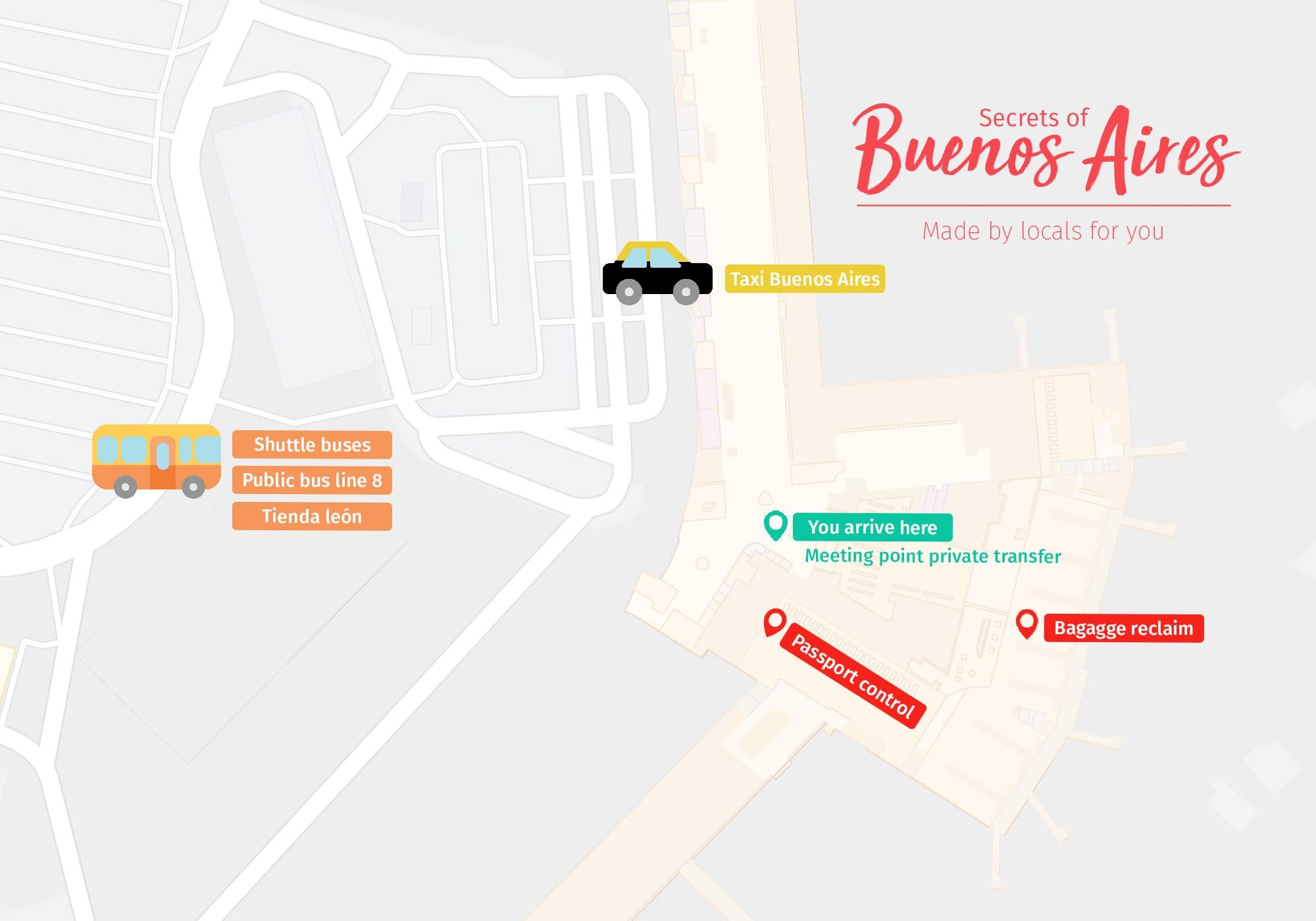 Transfer Ezeiza Buenos Aires airport 2020