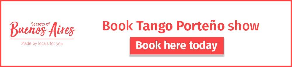 Book Tango Porteño Buenos Aires