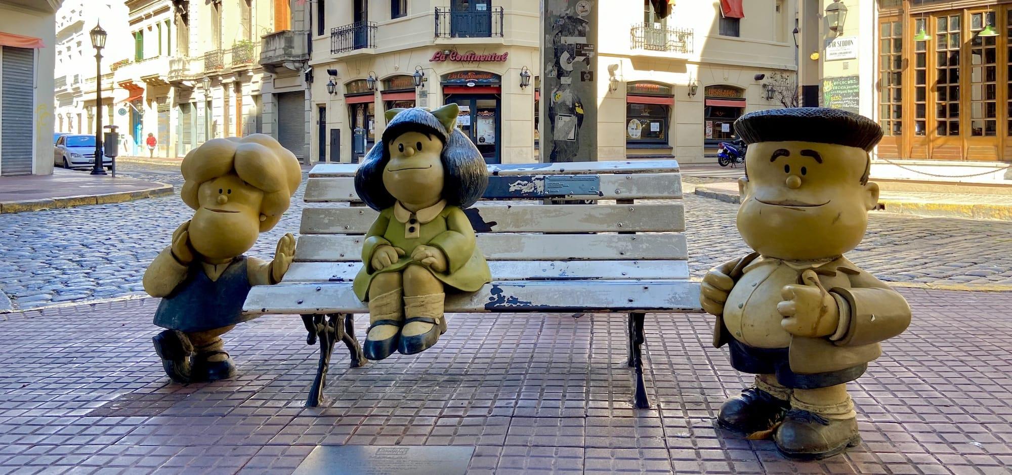 Quino Mafalda Defensa and Chile San Telmo