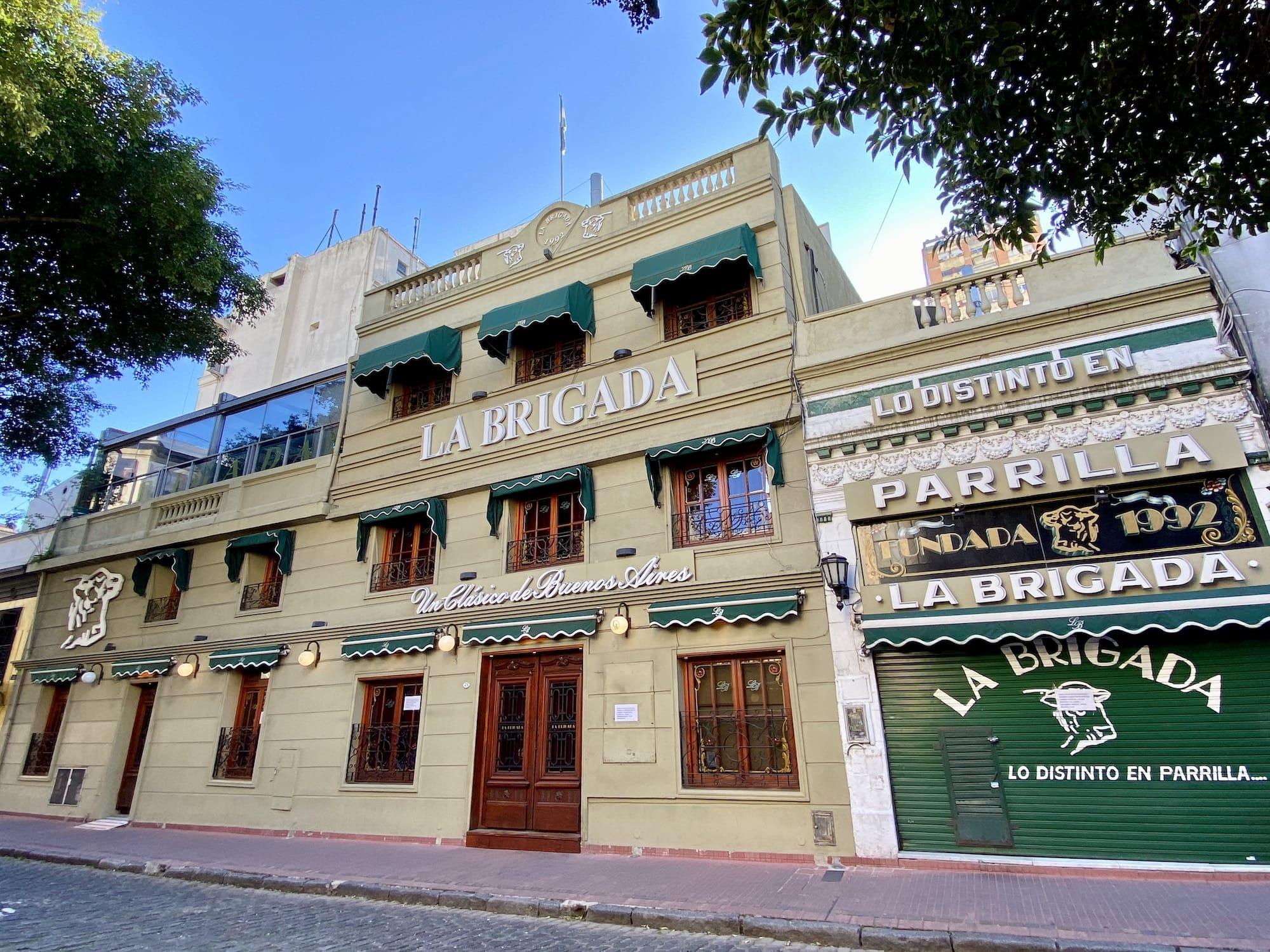 La Brigada steakhouse Buenos Aires