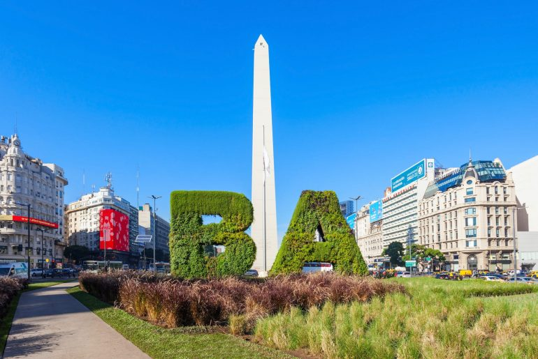 Tourism Argentina Buenos Aires back flights