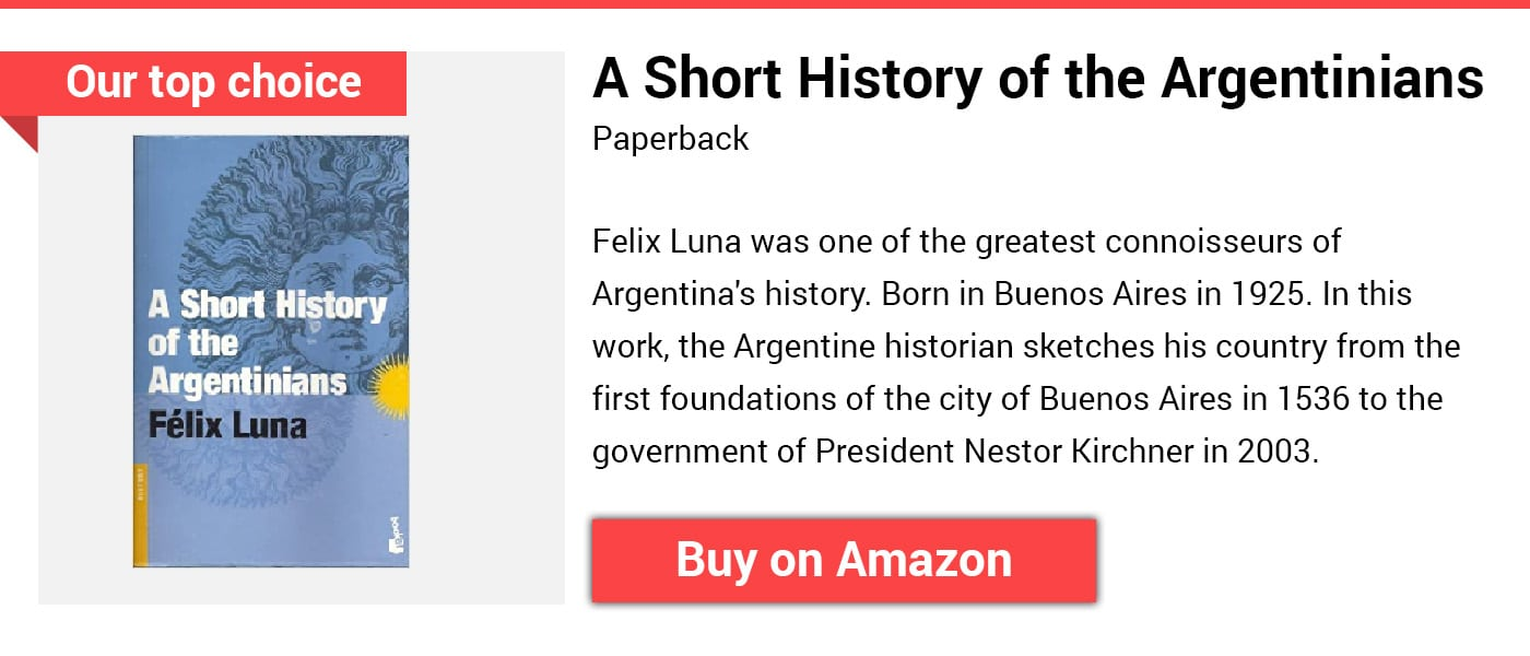 History of Argentina Felix Luna