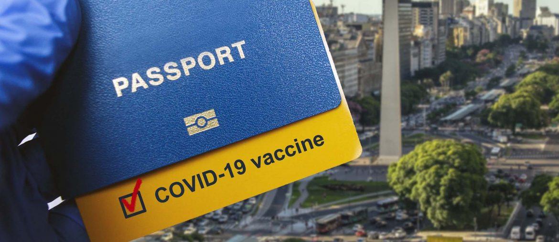 Argentina COVID passport certificate Buenos Aires